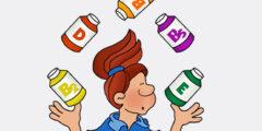 أهم الفيتامينات الضروريه لجسم الأنسان وفوائدها وكيف نحصل عليها؟